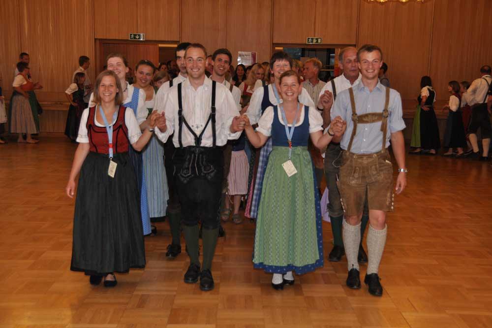 Volkstanzen im Turnverein Neulengbach